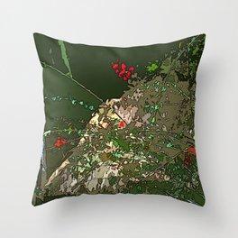 Lake Bacalar Throw Pillow