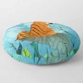 Tiger Creek Floor Pillow