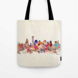 boston city massachusetts Tote Bag