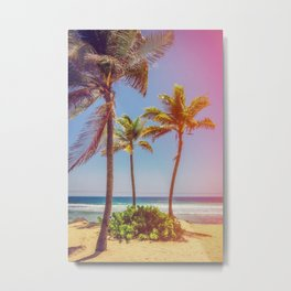 Tropical Breezes Metal Print