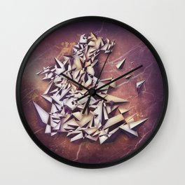 Ametrine Wall Clock