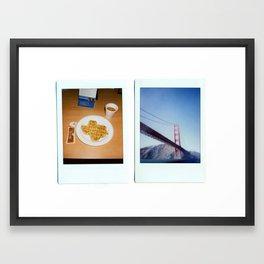 I Saw You Walking  Framed Art Print