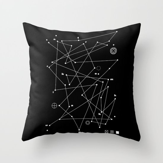 Raumkrankheit Throw Pillow