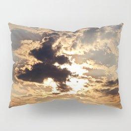 Cloud Shapes Pillow Sham