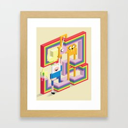 Mathematical! Framed Art Print