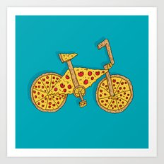 Pizzacycle Art Print