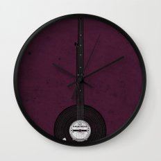 Banjo Beats Wall Clock