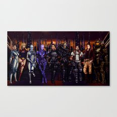Mass Effect - Team of Awesomness Canvas Print