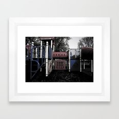 Old School Yard #5 Framed Art Print