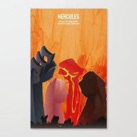 hercules Canvas Prints featuring Hercules by holysmoaks