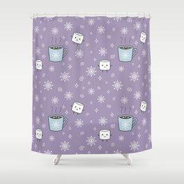 Winter Treat Shower Curtain