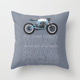 motorcycles Throw Pillow