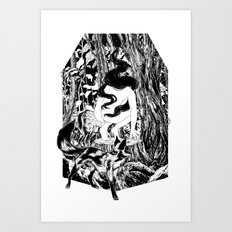 'The Erl King will do you grievous harm' Art Print