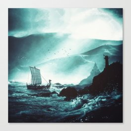 The Northern Tide Canvas Print