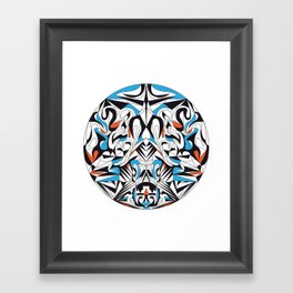 High Above Framed Art Print
