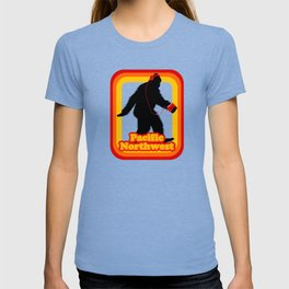Retro Sasquatch Pacific Northwest T-shirt