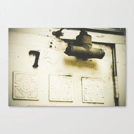 5 1/2, no, 7 Canvas Print