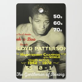 Boxing and Boxer: Floyd Patterson Cutting Board