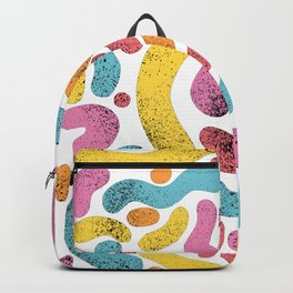 Colorful squiggles Backpack