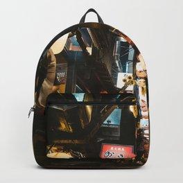 Omoide Yokocho. Backpack