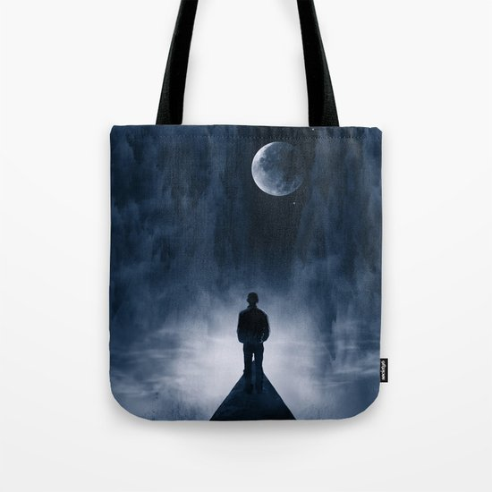 Blue Dream Night Tote Bag