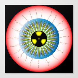 Radioactive Eye Canvas Print