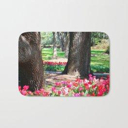 Garden Of Tulips Bath Mat