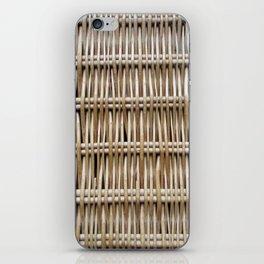 Wicker Weave iPhone Skin