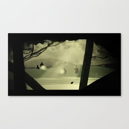 The Search Canvas Print