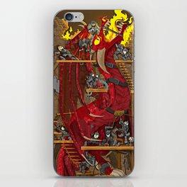 Dragon Inside iPhone Skin