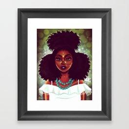 Festival Vibes Framed Art Print