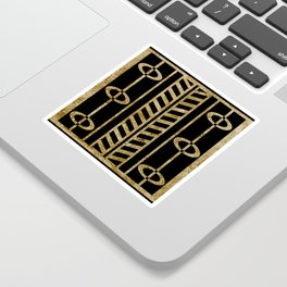 Art deco design II Sticker