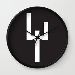 Zeichen / Sign Wall Clock