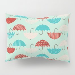 Umbrellas Pillow Sham