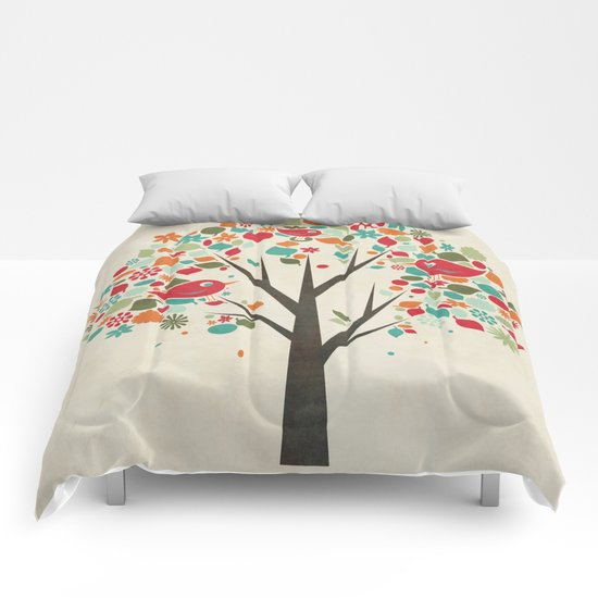Home Birds Comforters