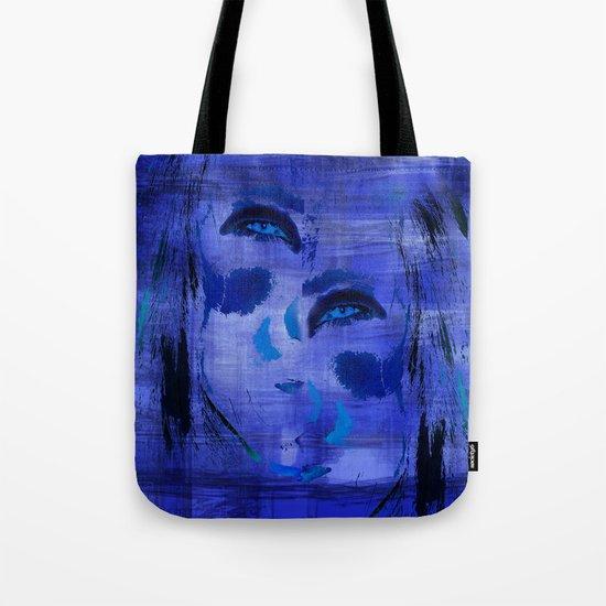 Blue Woman 2 Tote Bag