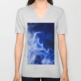 Atmospheric Cyan Movement4 Unisex V-Neck