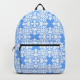 Sky Blue Lace Backpack