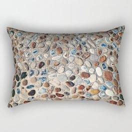 Pebble Rock Flooring II Rectangular Pillow