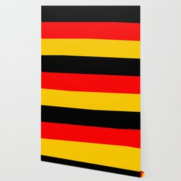Black Red and Yellow German Flag Wallpaper