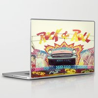 rock and roll Laptop & iPad Skins featuring Rock & Roll by Libertad Leal Photography