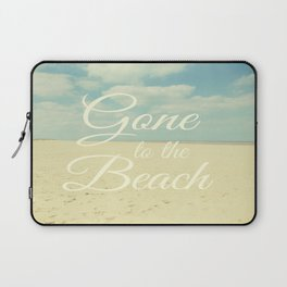 Gone To The Beach Laptop Sleeve