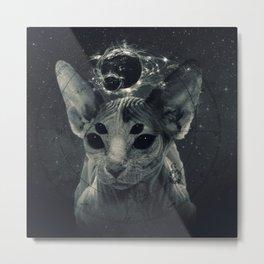 CosmicSphynx Metal Print