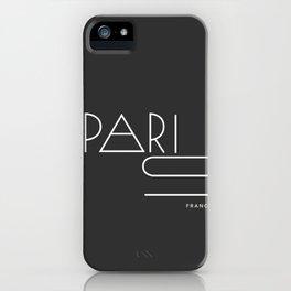 Paris. iPhone Case