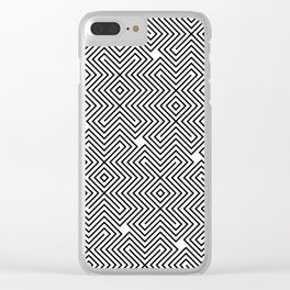 Op Art 24 Clear iPhone Case