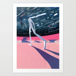 """Currents"" by Lisk Feng & Jun Cen for Nautilus Art Print"