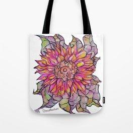 Sunflower Watercolor Tote Bag