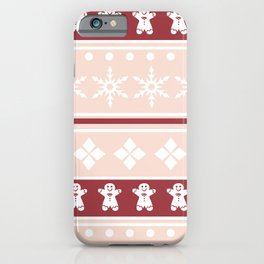 Sweater Pattern 2 b iPhone Case