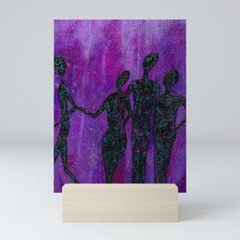 Walking Away Mini Art Print