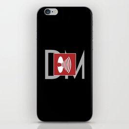 DM : Music For The Masses Logo iPhone Skin